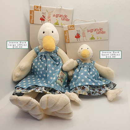 Jeanne Duck Soft Toy