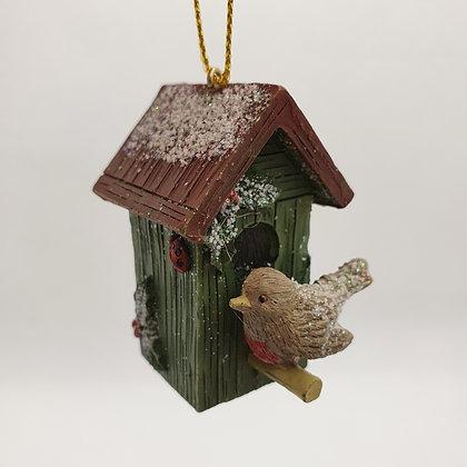 Mini Birdhouse Decoration
