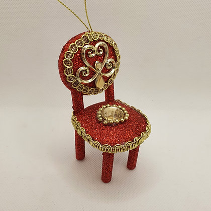 Jewelled Chair Decoration