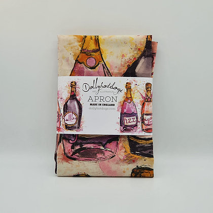 Champagne Bottle Apron