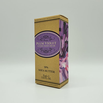 Naturally European Plum Violet Luxury Hand Cream