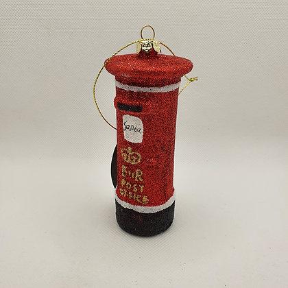 London Post Box Decoration