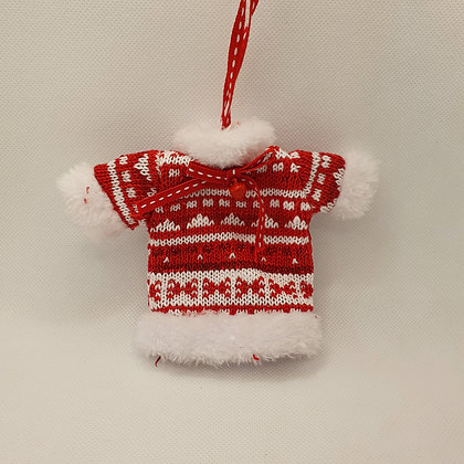 Soft Knitted Sweater Decoraton