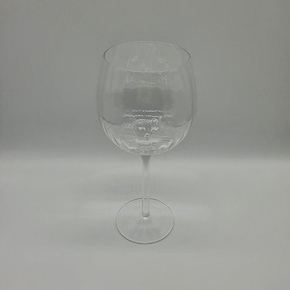 Tall Ribbed Gin Glass