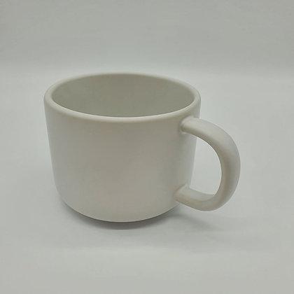 Fika Flat White Mug (Chalk White)