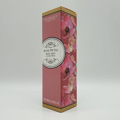Naturally European Rose Petal Body Mist & Home Spray