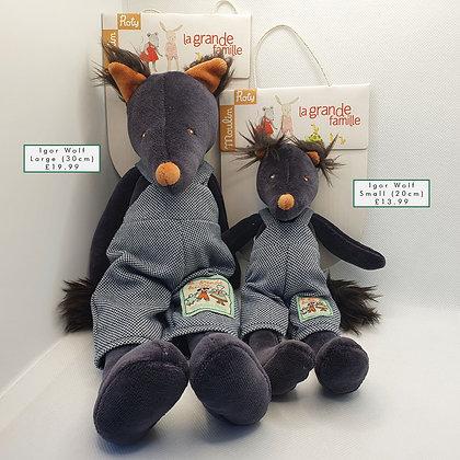 Igor Wolf Soft Toy