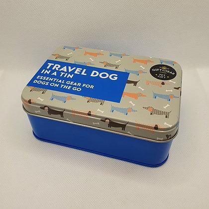 Travel Dog in a Tin
