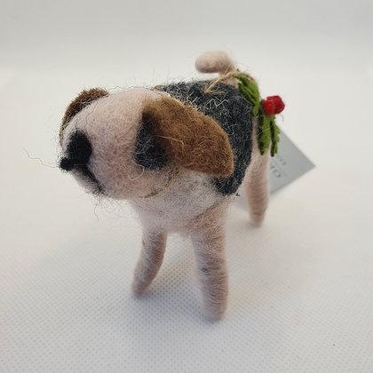 Felt Dog Decoration