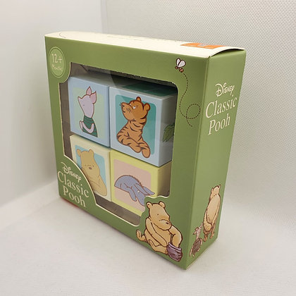 Classic Pooh Counting Blocks