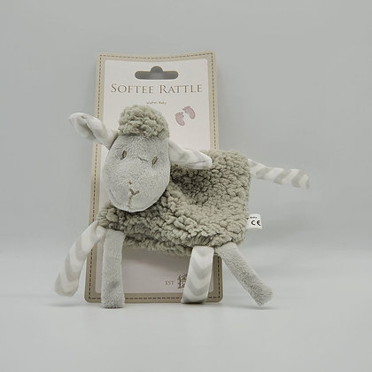 Softee Cuddles Sheep Rattle Toy