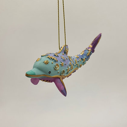 Pastel Dolphin Decoration