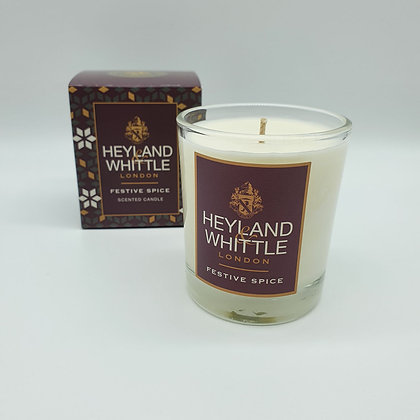 Festive Spice Scented Candle