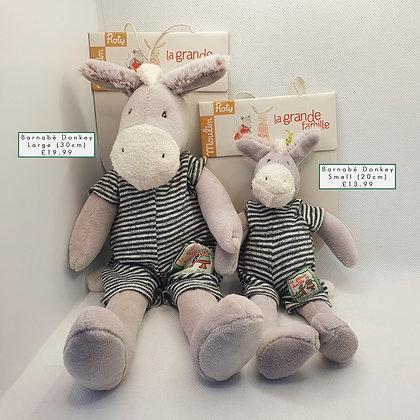 Barnabé Donkey Soft Toy