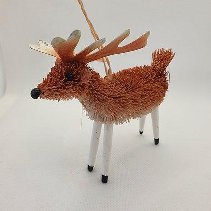 Bristle Reindeer Decoration