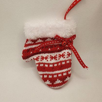 Soft Knitted Mitten Decoration