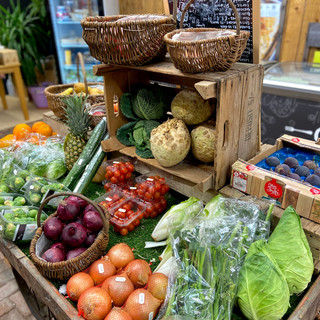 Fruit and Veg Cart