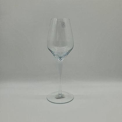 Tall Clear Wine Glass