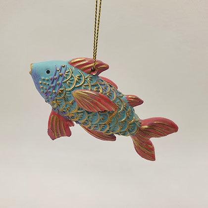 Pastel Fish Decoration