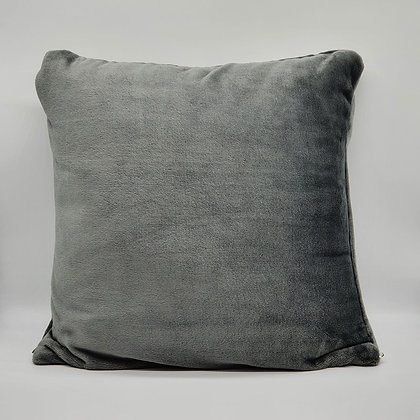 Charcoal Cashmere Touch Cushion
