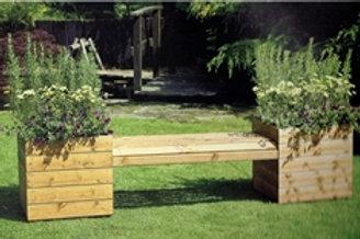 Fenton Planter Bench