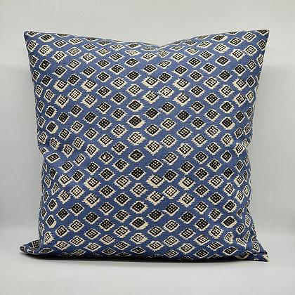 Dakar Indigo & Black Cushion