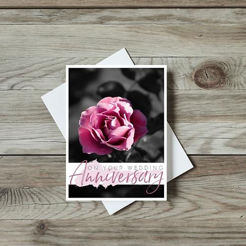 On Your Wedding Anniversary - Paper Birch Art