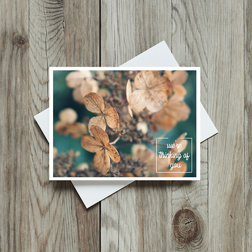 We're Thinking of You Card - Paper Birch Art
