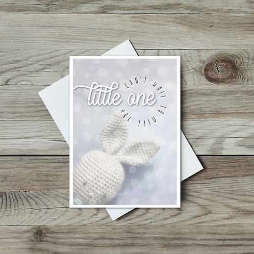 Can't Wait to Meet You Little One (Baby Card) - Paper Birch Art