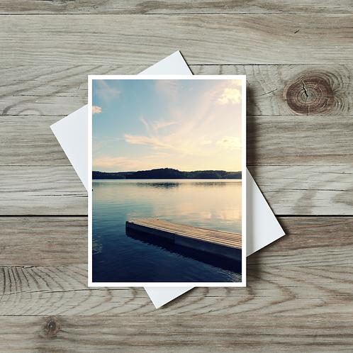 Muskoka Lake - Paper Birch Art