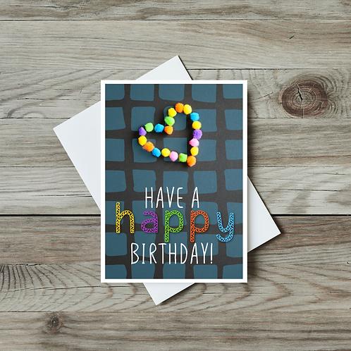 Kids' Happy Birthday Card - Paper Birch Art