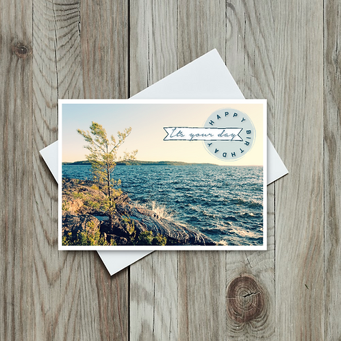 Happy Birthday Card - Paper Birch Art