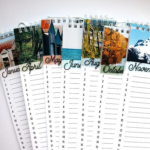 Perpetual Calender   Birthday Calendars - Paper Birch Art