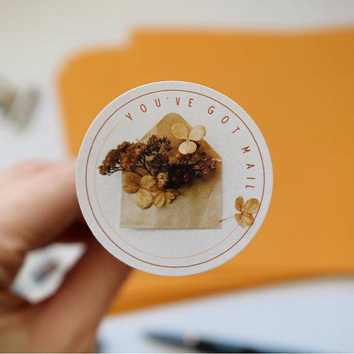 You've Got Mail Envelope Seals - Paper Birch Art