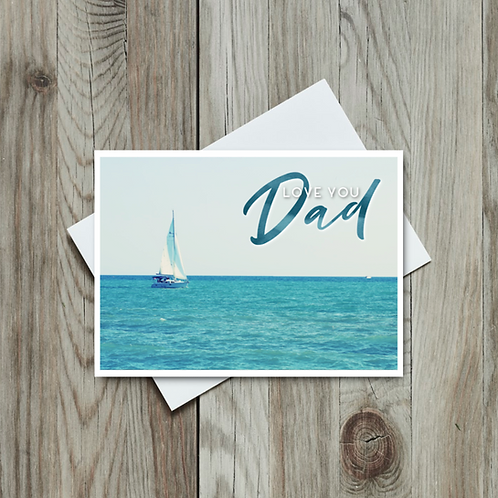Love You Dad - Father's Day Card