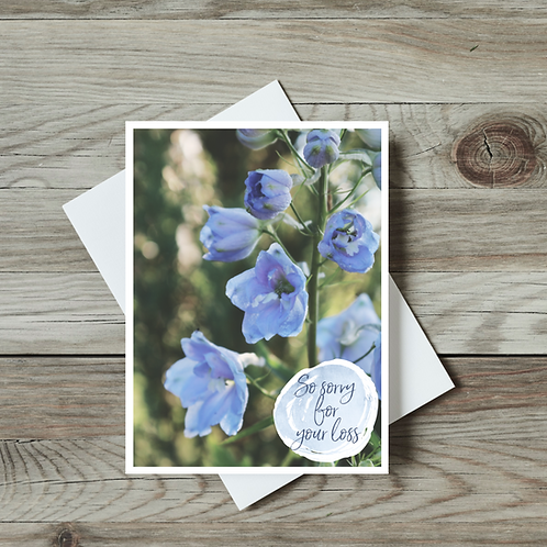 So Sorry for Your Loss Card - Paper Birch Art