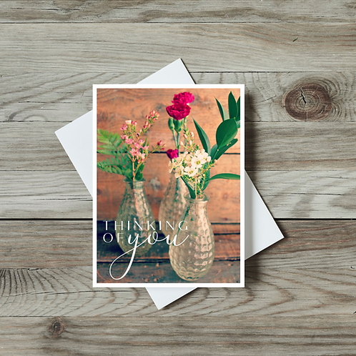 Thinking of You Greeting Card - Paper Birch Art