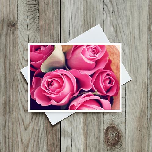 Roses Greeting Card - Paper Birch Art