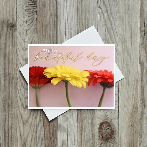 Gerbera Daisy Beautiful Day - Paper Birch Art