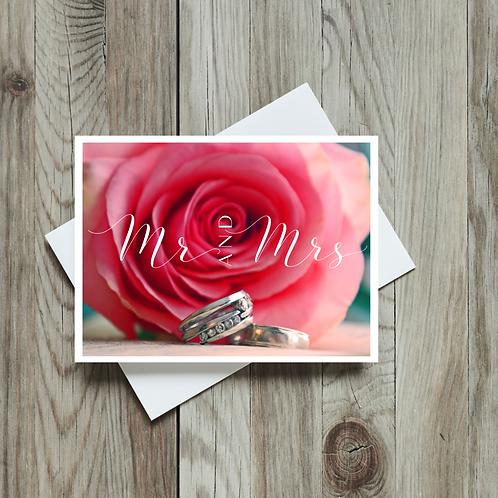 Mr. and Mrs. - Paper Birch Art