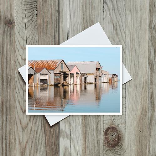 Lake Greeting Card, Port Rowan Ontario, Made in Canada
