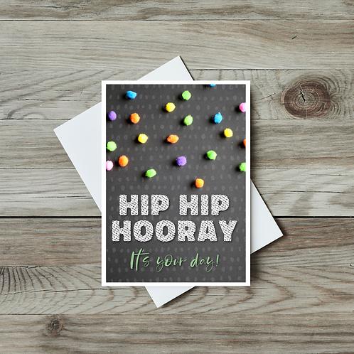 Hip Hip Hooray, It's Your Day! - Paper Birch Art