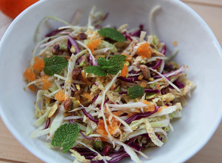 Three Cabbage Citrus Salad
