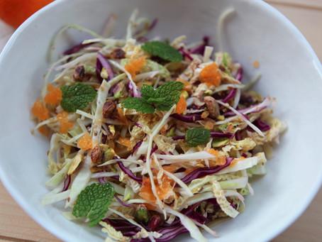 Three Cabbage Citrus Salad