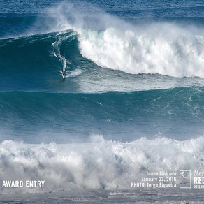 Joana Andrade, la big wave rideuse d'Ericeira