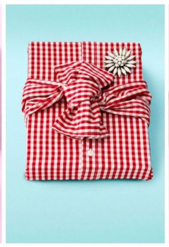 shirt gift wrapped box
