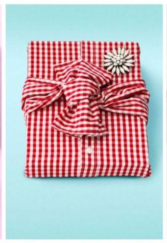 shirt gift wrapped box