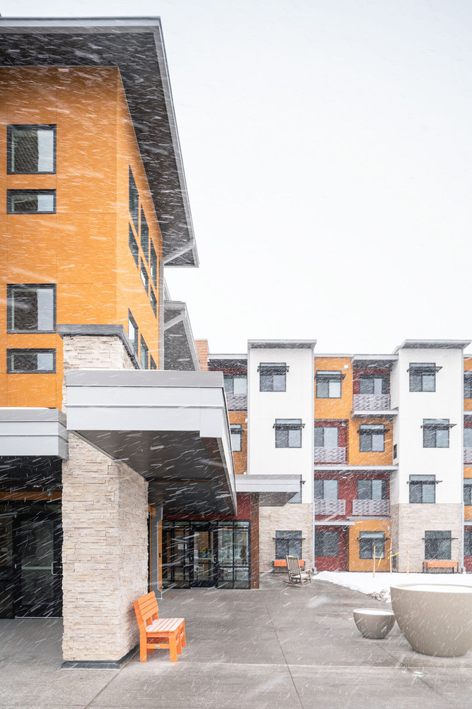 Longmont Housing Authority's Fall River at Prairie Village Wins the 2020 People's Choice Award from