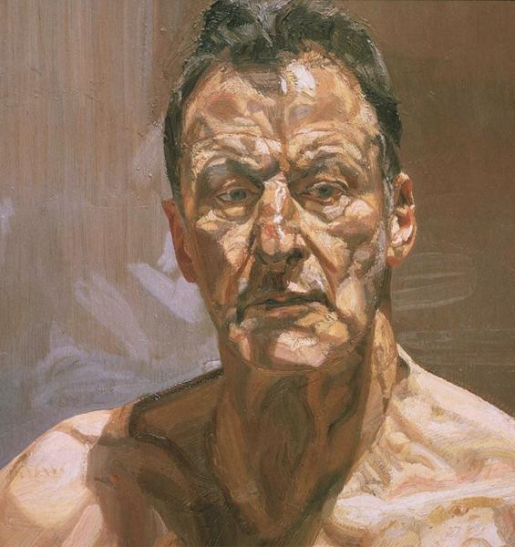 Lucian Freud - Reflection