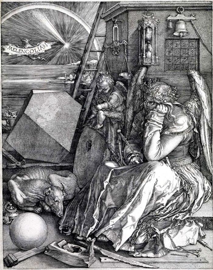 Melancolia I - Albrecht Dürer